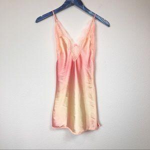 Victoria's Secret Peach Ombré Lingerie Slip
